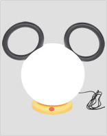 Fermob Lampe Mickey Mouse
